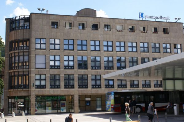 Gebäude der Büroräumlichkeiten von HPF von aussen